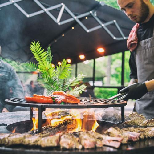 Barbecuen in omgeving van Breda